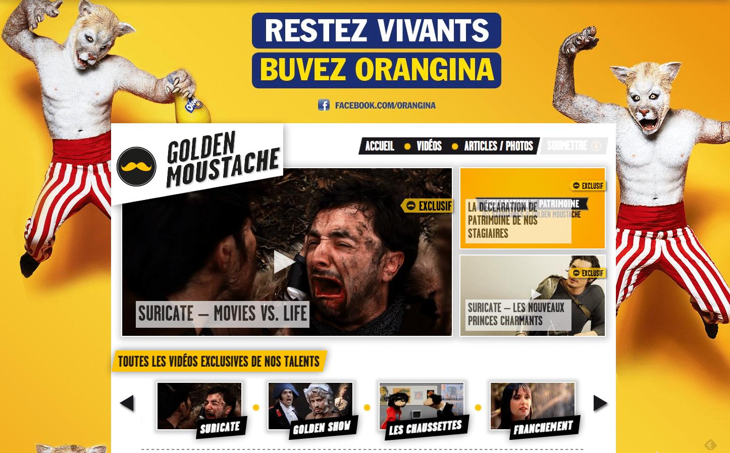 Goldenmoustache - mediaculture.fr